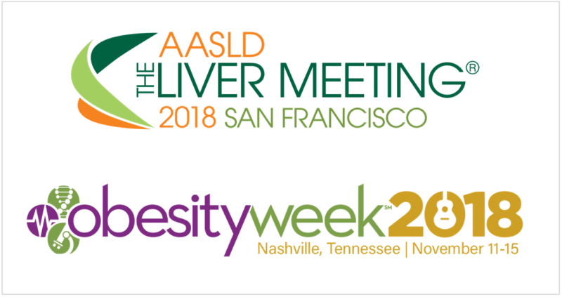 AMRA's Accepted 'Poster of Distinction' by AASLD, Abstracts at ObesityWeek