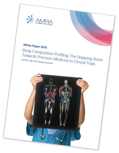 AMRA's White Paper Now Available, Sharing Insights on Body Composition Profiling in Clinical Trials