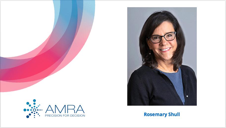 AMRA Medical Welcomes Rosemary Shull as Senior Vice President, Global Business Development & Marketing