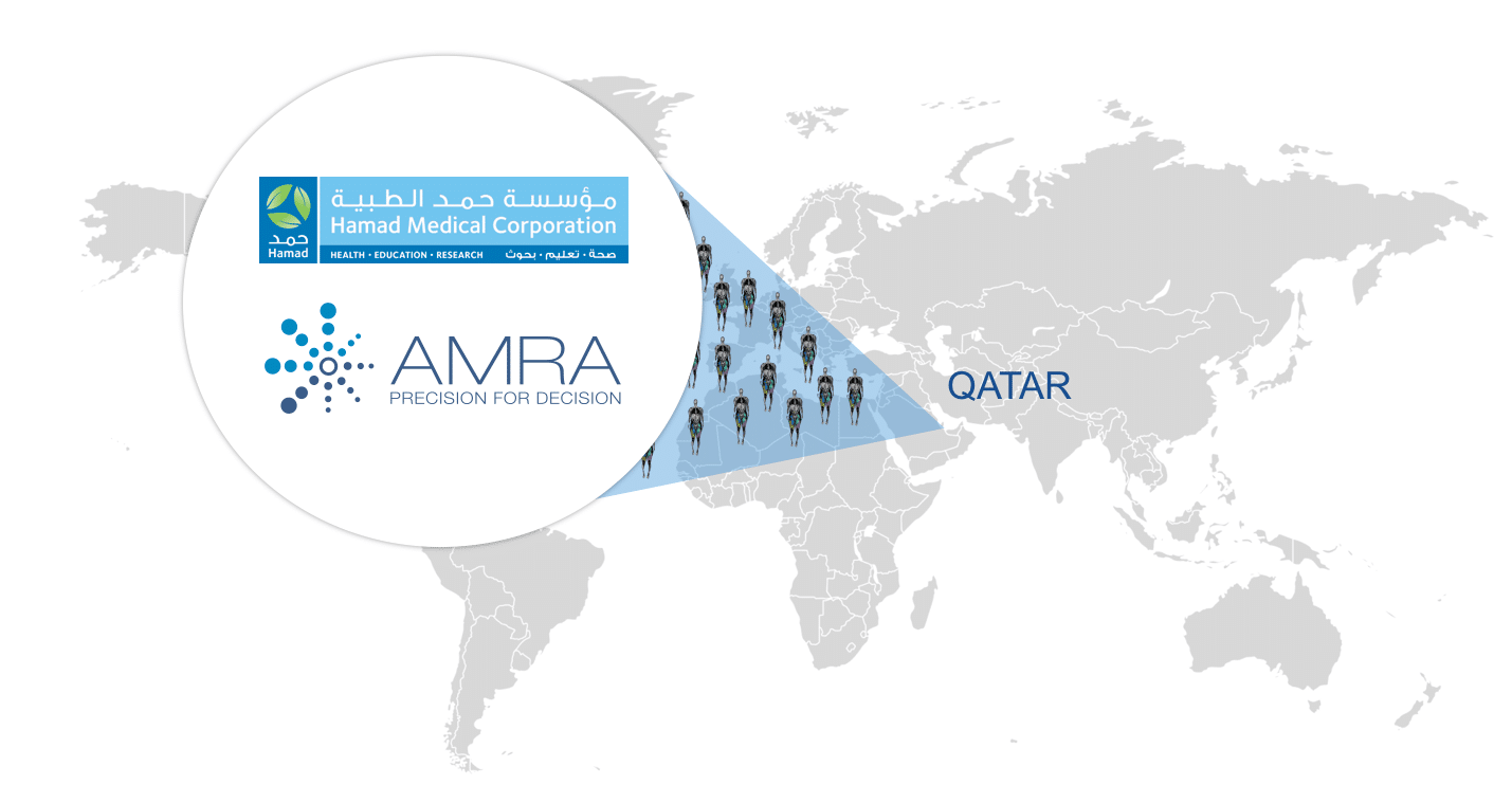 AMRA Medical Announces Qatar Collaboration, Expanding its Global Patient Data Footprint