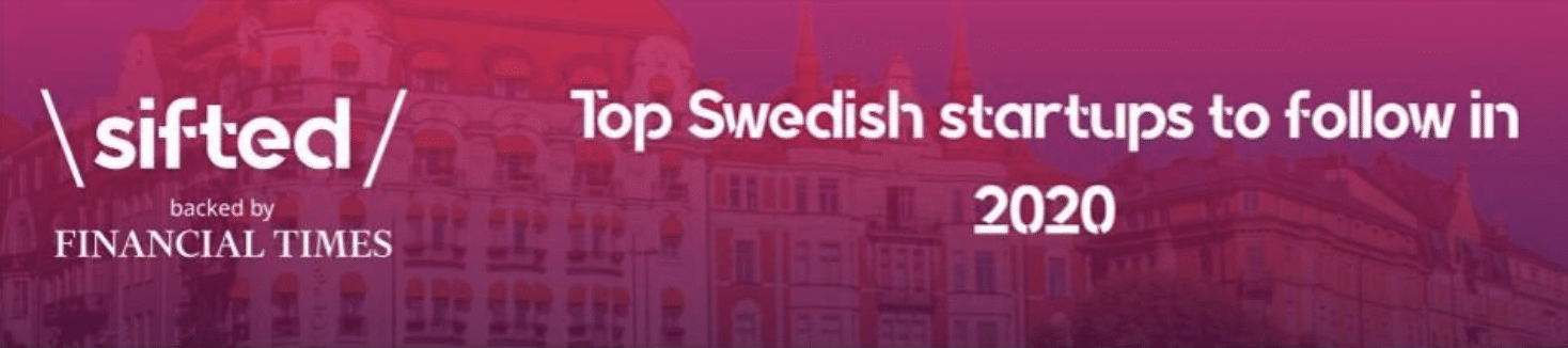 AMRA Medical Is Recognized as One of the Top Swedish Startups to Follow 2020