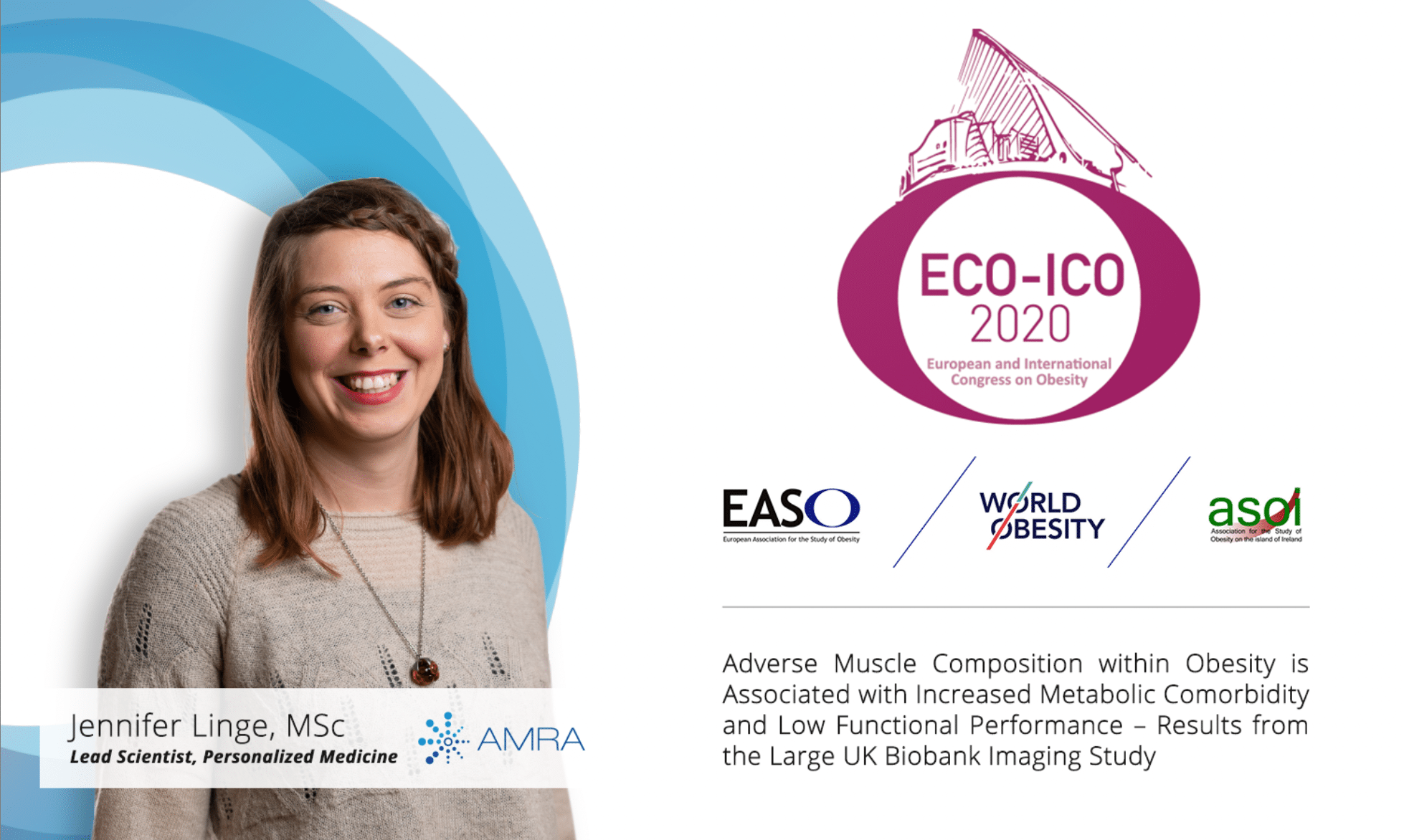 AMRA Medical Will Highlight MRI-Based Muscle Composition in Obesity at ECOICO 2020